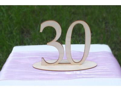 Natúr fa - Asztalszám 30-as