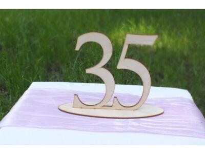 Natúr fa - Asztalszám 35-ös
