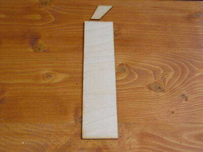 Natúr fa - Betű hagyományos 24cm