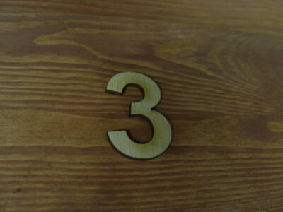 Natúr szám 3-as 10db/csomag