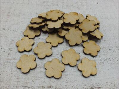 Natúr fa - Virág 3cm 30db/csomag