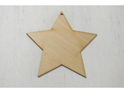 Natúr fa - Csillag 15cm