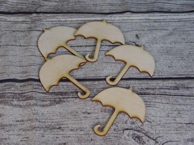 Natúr fa - Esernyő nyitott 5db/csomag
