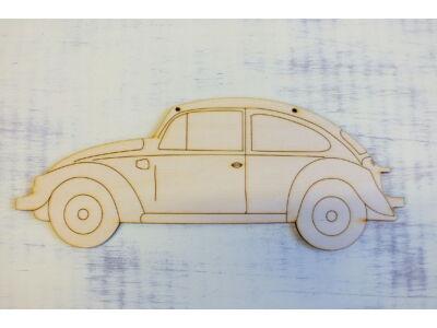 Natúr fa - Autó rajzos 24cm