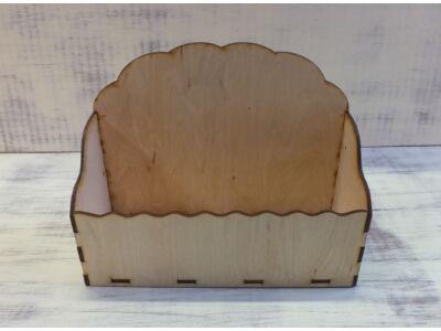 Natúr fa - Tároló doboz hullámos