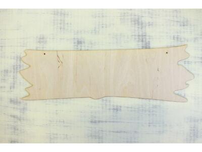 Natúr fa - Tábla kőkorszaki 50cm