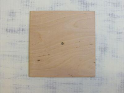 Natúr fa - Négyzet óralap 25x25cm