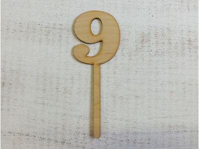 Beszúrható szám 9-es