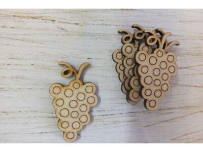 Natúr fa - Szőlő 5,5cm 5db/csomag