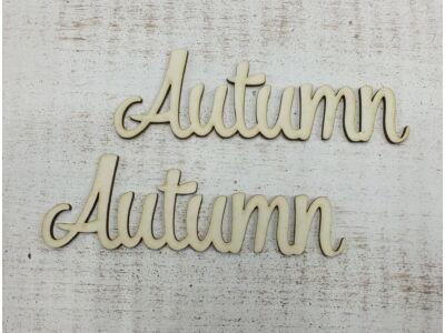 """""""Autumn"""" felirat"""