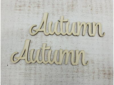 """Autumn"" felirat 2db/csomag"