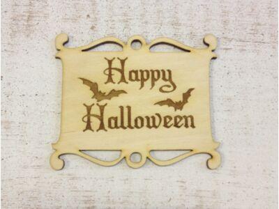 Natúr fa - Halloween tábla