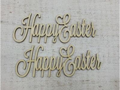 """""""Happy Easter"""" felirat 15cm"""