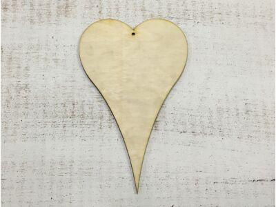 Natúr fa - POP szív 20cm