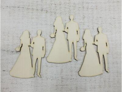 Esküvői pár csokros