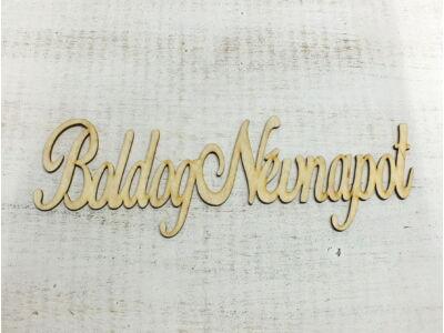 Boldog Névnapot felirat írott 31cm