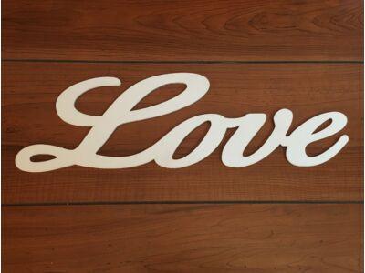 """""""Love"""" felirat fehér 50cm"""