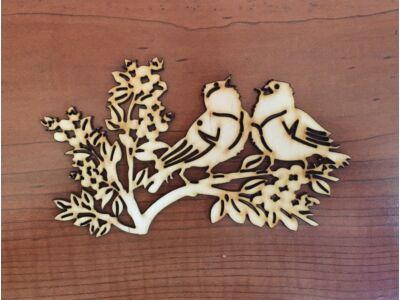 Natúr fa - Énekes madarak 15cm