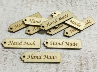 "Natúr fa - ""Hand Made"" scrapbook tábla"