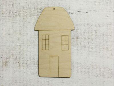 Natúr fa - Magas ház kicsi 19,5cm