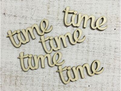 """""""Time"""" felirat"""