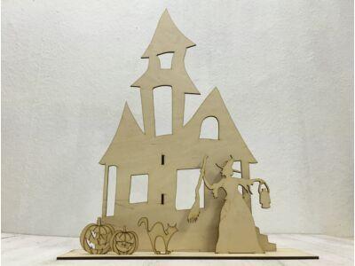 Natúr fa - Halloween kastély