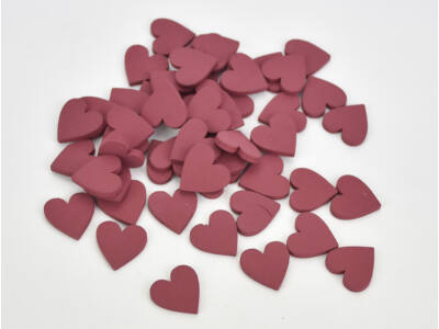 Fa sziv piros 2cm 50db/csomag
