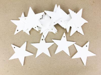 Fehér csillag 6cm