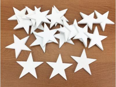 Csillag fehér 4,5cm