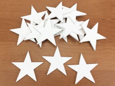 Csillag fehér 5,5cm
