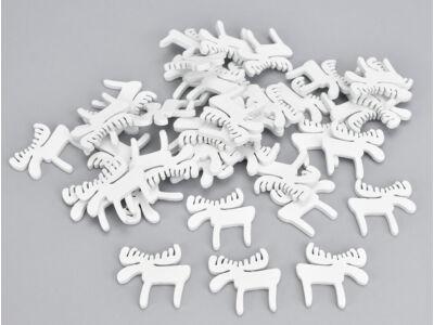 Fehér fa jávorszarvas 40db/csomag