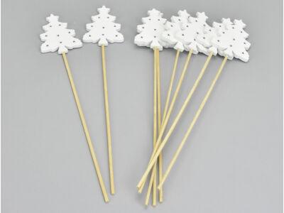 Fehér fa pálcás fenyő 8db/csomag
