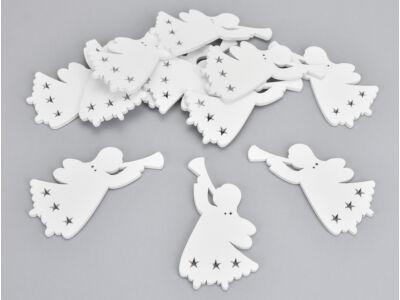 Fehér harsonás angyal 12db/csomag