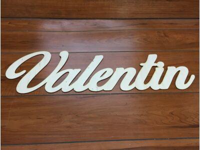 "Natúr fa ""Valentin"" felirat 75cm"