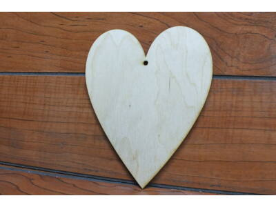 Natúr fa szív 15cm