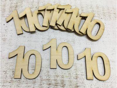 Évfordulós számok 10-es 10db/csomag