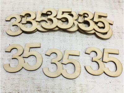 Évfordulós számok 35-ös 10db/csomag