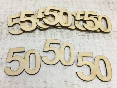 Évfordulós számok 50-es 10db/csomag