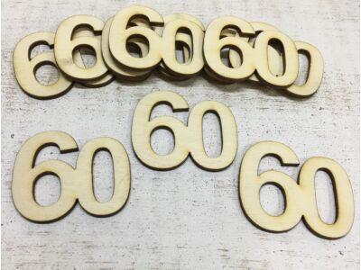 Évfordulós számok 60-as 10db/csomag