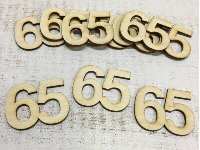 Évfordulós számok 65-ös 10db/csomag