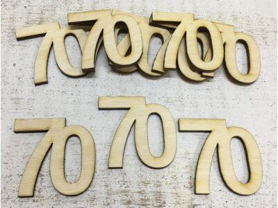 Évfordulós számok 70-es 10db/csomag