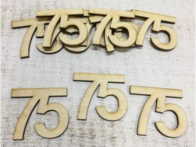 Natúr fa - Évfordulós számok 75-ös