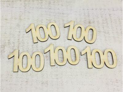 Évfordulós számok 100-as 5db/csomag