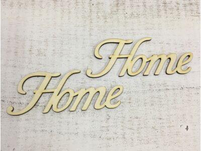 "Natúr fa - ""Home"" felirat írott 14,5cm"