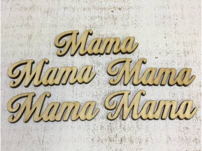"Natúr fa -""Mama"" felirat"