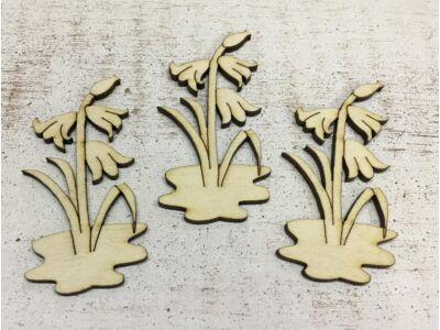 Natúr fa - Harangvirág  7cm 3db/csomag