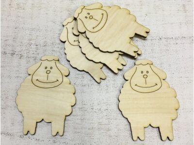 Natúr fa -  Bárány 10cm 5db/csomag