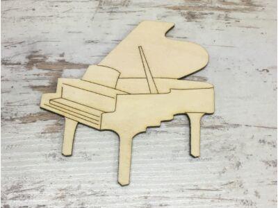 Natúr fa - Zongora 10cm
