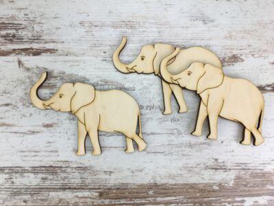 Natúr fa - Elefánt 8cm
