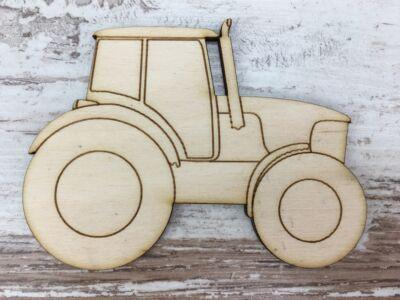 Natúr fa - Traktor 9,3cm